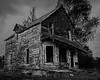 Abandoned home, near Wawa, Ontario.