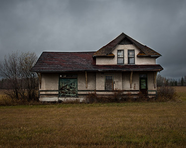 Abandoned home near Emo Ont.