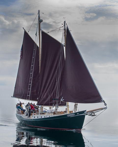Hjordis, schooner, Grand Marais Mn