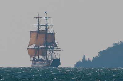 HMS Bounty, 1 year before she went down
