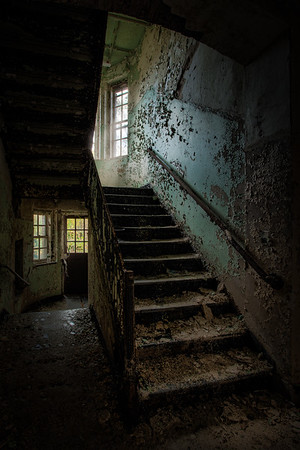 stairwell building 138