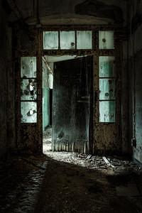 foreboding doorway