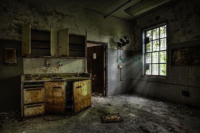 open cabinet doors