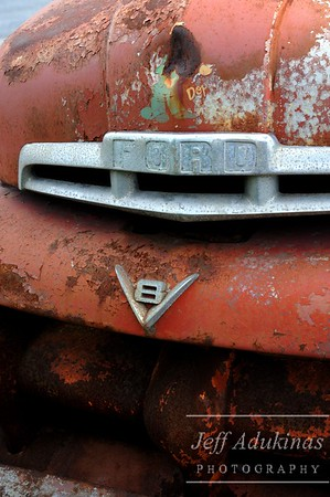 Rusty V8 Ford Truck