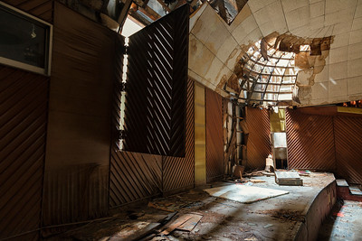 the abandoned Paris Theatre, Bangkok, Thailand