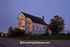 Dawn at Dayton Corners Church,  Richland County, Wisconsin