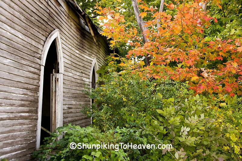 Abandoned Bethel Chapel, Richland County, Wisconsin