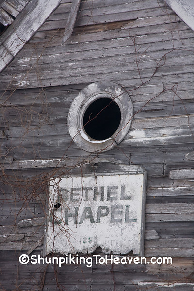Abandoned Bethel Chapel, Richland County, Wisconsin