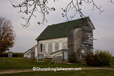 Dayton Corners Church,  Richland County, Wisconsin