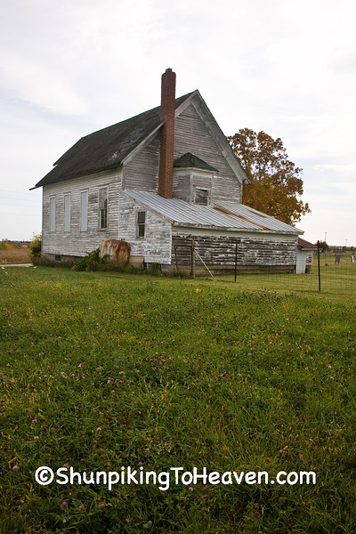 Dayton Corners Church,  Richland County, Wisconsin