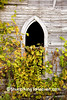 Abandoned Church Window, Richland County, Wisconsin