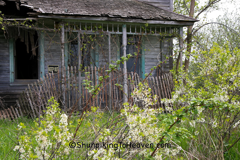 Porch of Abandoned House, Sauk County, Wisconsin