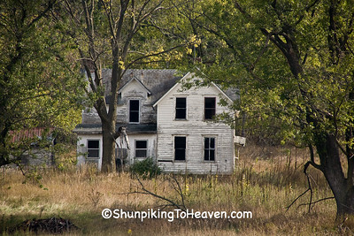 Abandoned House, Houston County, Minnesota