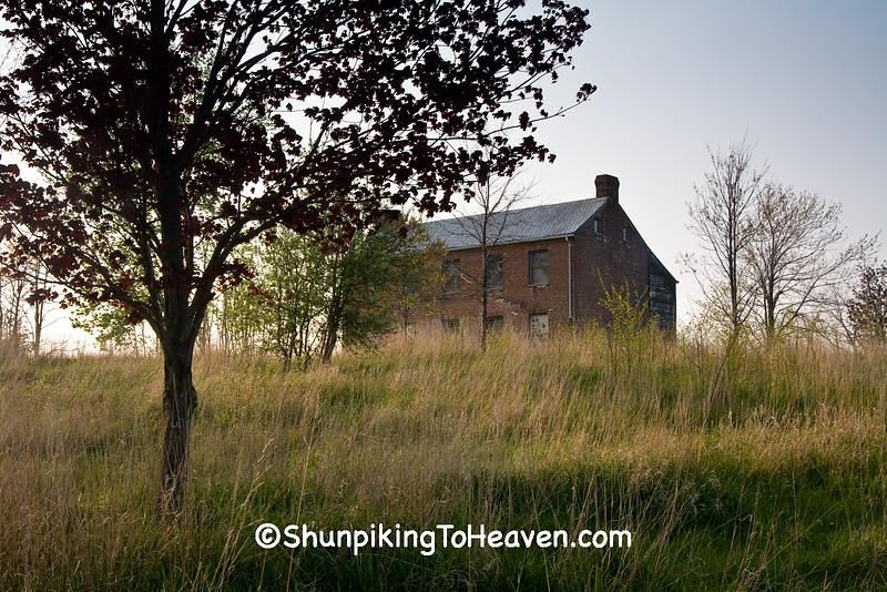 Abandoned Brick House, Clark County, Ohio