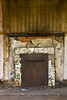 Fireplace in Abandoned House, Muskingum County, Ohio