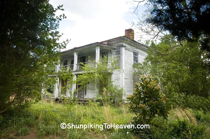 Abandoned House, Lenoir County, North Carolina