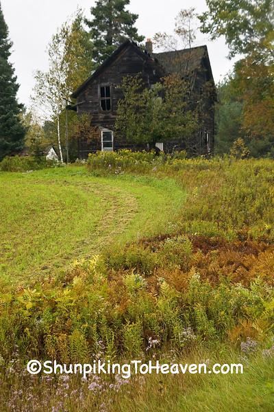 Abandoned House, Marathon County, Wisconsin
