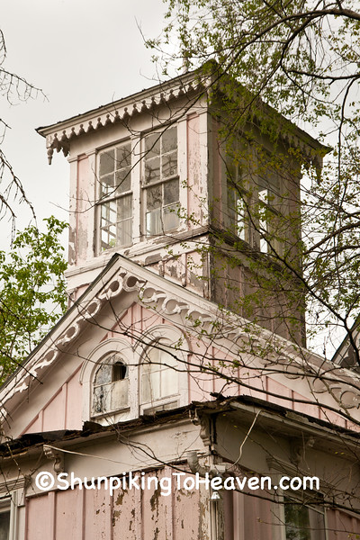 Widow's Walk, The Gingerbread House, Built c. 1870 by Monroe Allison, Metamora, Indiana