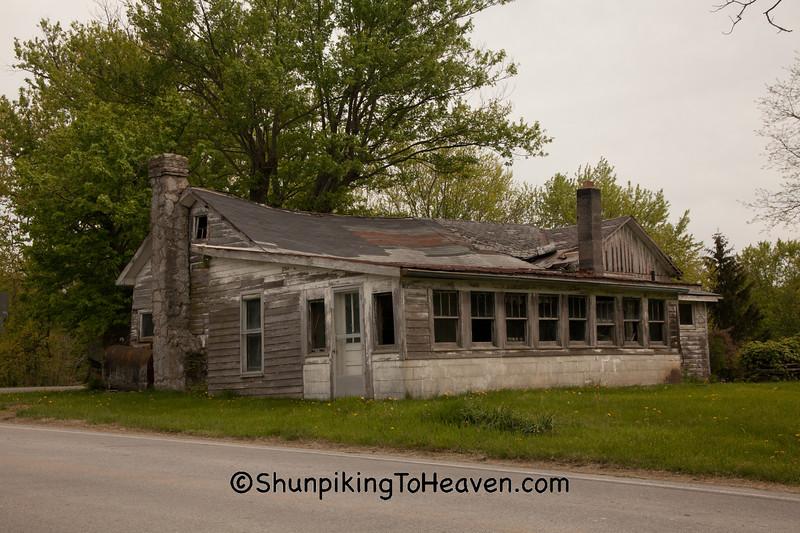 Old-Fashioned Porch, Highland County, Ohio