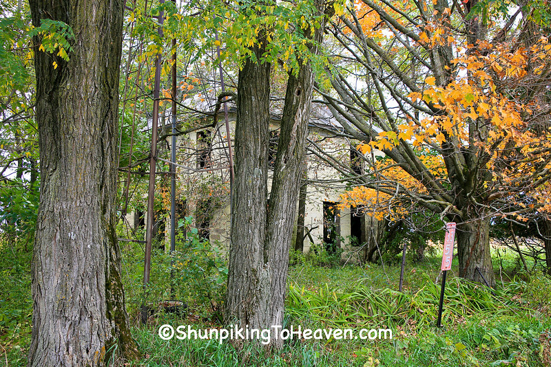 """Haunted Homestead"" in Autumn, Richland County, Wisconsin"