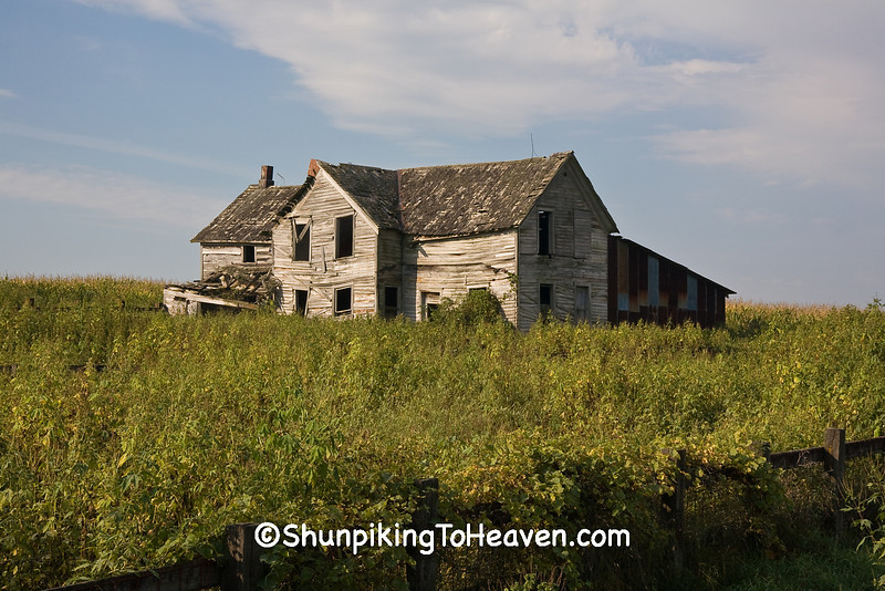 Abandoned House, Allamakee County, Iowa