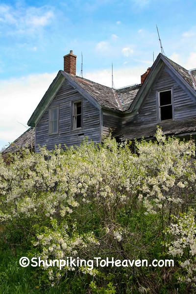 Abandoned House, Sauk County, Wisconsin