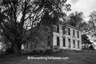 Abandoned House, Belmont County, Ohio