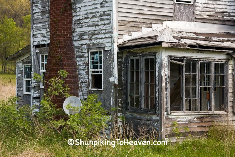 Abandoned House, Muskingum County, Ohio