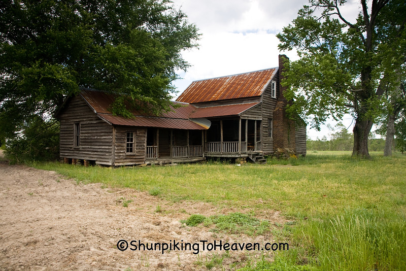 Abandoned Homestead, Harnett County, North Carolina