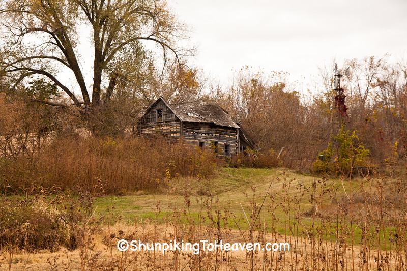 Log Cabin Ruins, Buffalo County, Wisconsin
