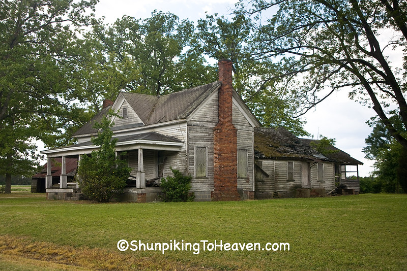 Abandoned Homestead, Harnett County, North Carolina