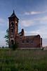 Ruins of Oak Grove School, 1913, Jay County, Indiana