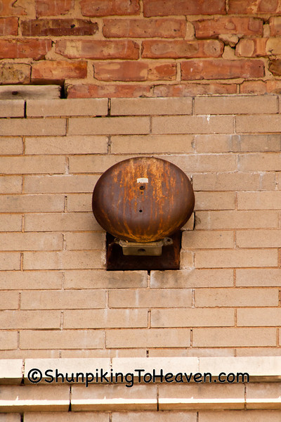 School Bell, Congress School, 1867, Polo, Illinois