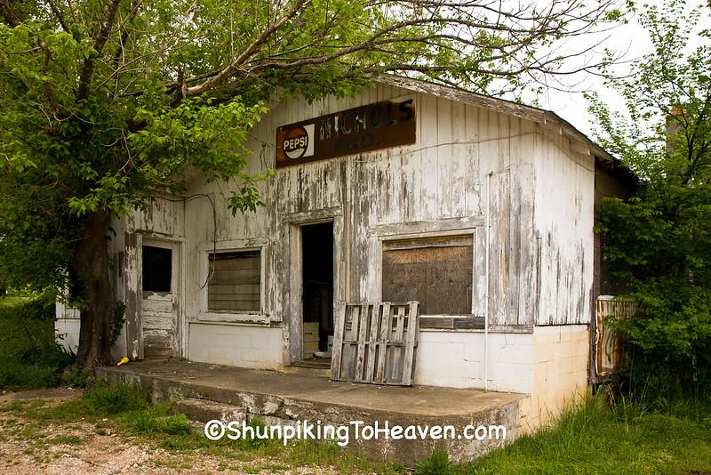 Nichols Grocery, Newton County, Arkansas