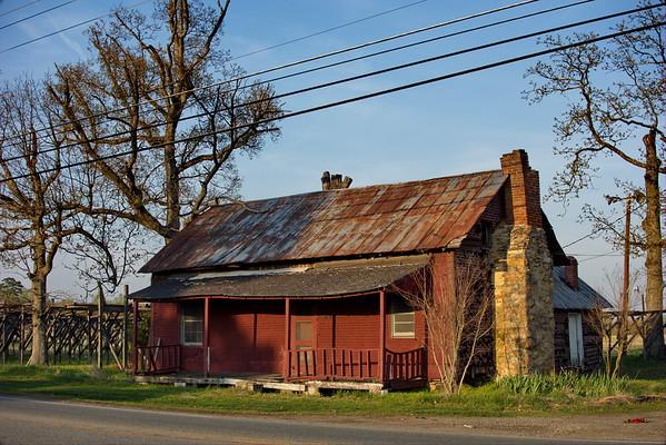 Roxboro, North Carolina. April 2014.