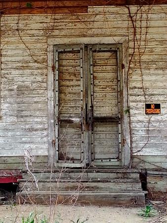 Abandoned gas station, South Carolina. April 2014.