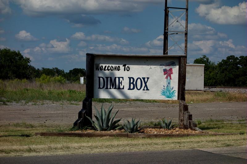 Dime Box, Texas. June 2015.