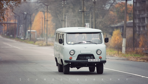 A few modern vehicles can be spotted around Chernobyl, but the majority of what you will see are right from the 1950s. I am surprised that such relics still run, and well enough to cart government workers to and from their posts each day.