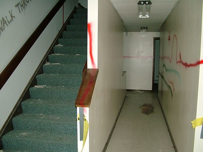 radio station basement