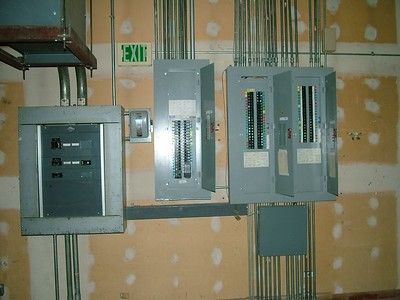the joy of my life, electrical panels