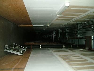 more service corridor.