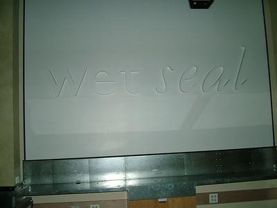 wet seal....