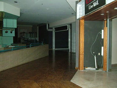 the hallway again..