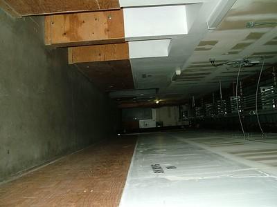 the service corridor