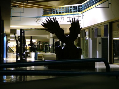 the eagle in the hallway