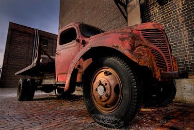 Ol Red Truck