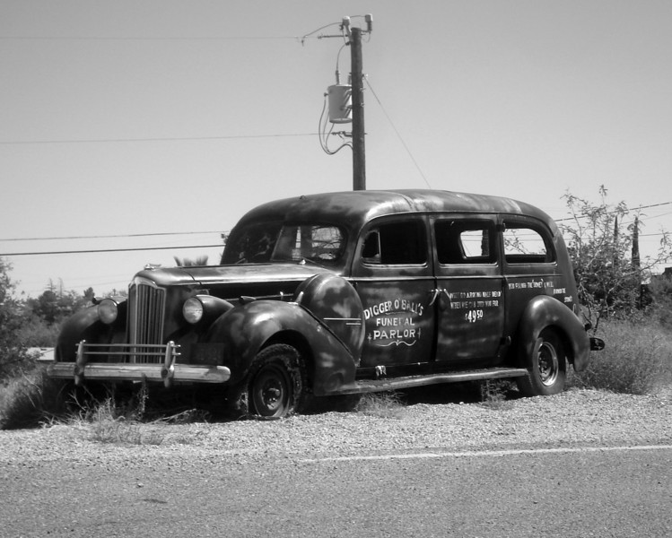 Hearse - Tombstone, Arizona
