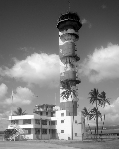 Ford Island Control Tower - Pearl Harbor, Hawaii