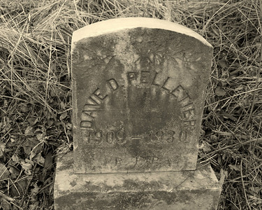 Abandoned Pelletier Tombstone