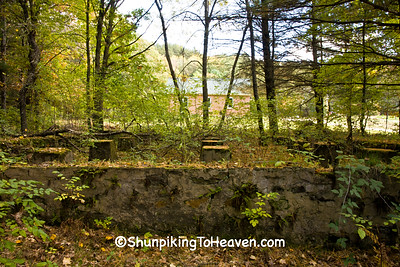 Dance Hall Foundation and Footings, Monroe County, Wisconsin
